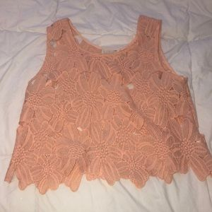 LA HEARTS flower top
